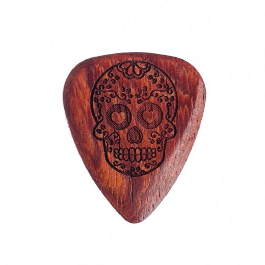 Tattoo Tones Candy Skull 1 Guitar Pick